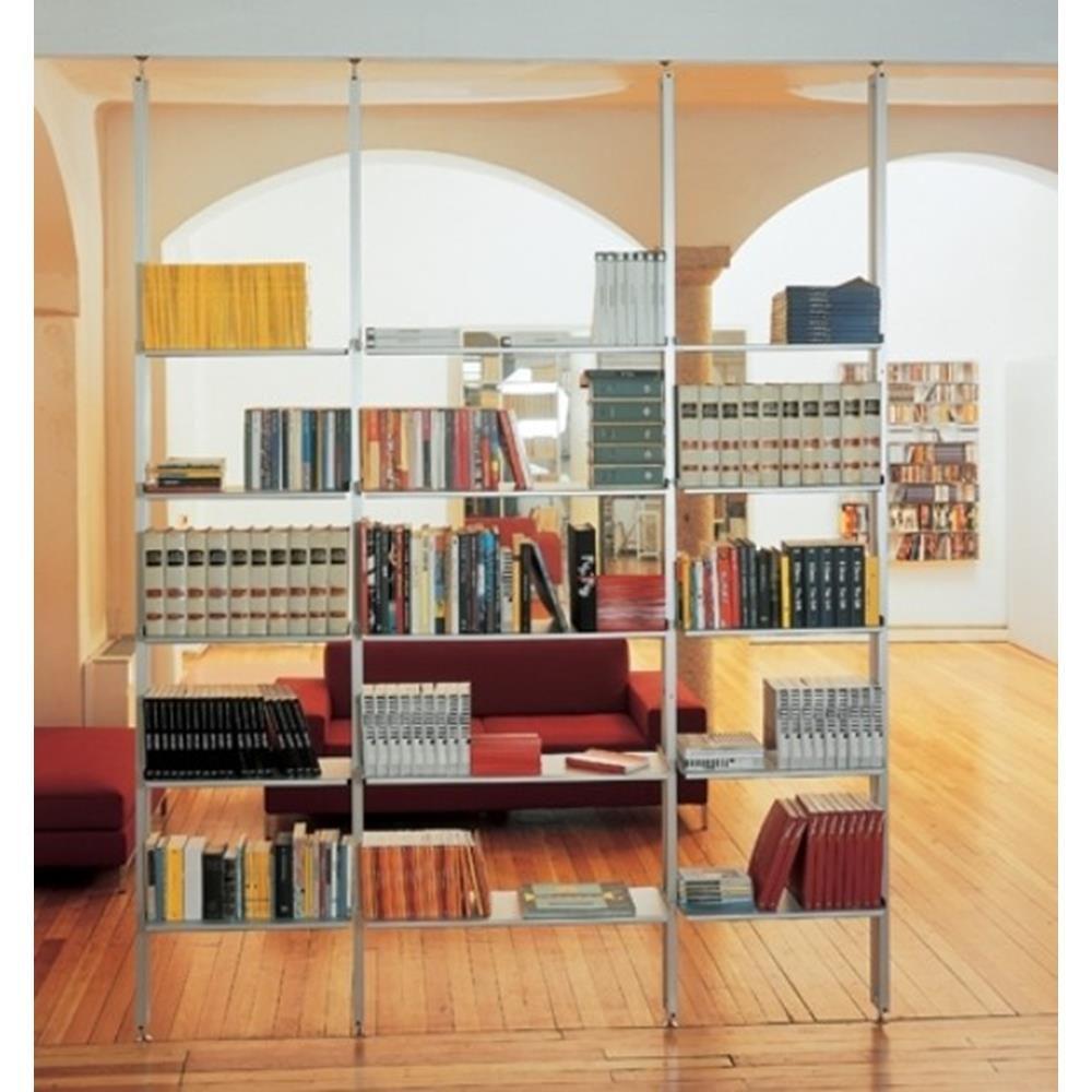 Libreria Bifacciale A Soffitto libreria k2 kriptonite a 3 campate