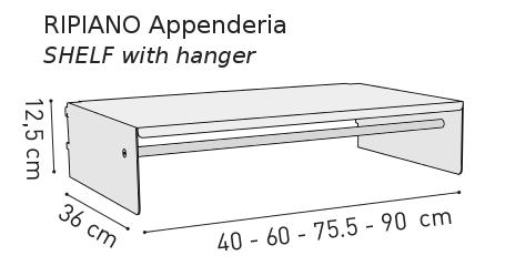 """ripiano appenderia""-k1-kriptonite"