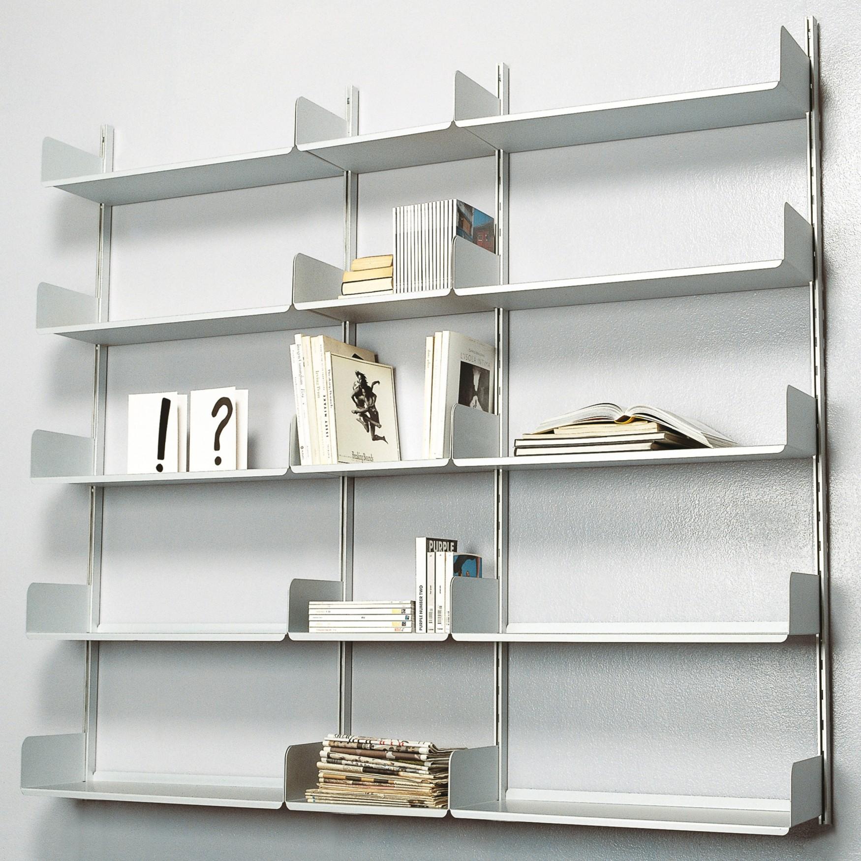 Librerie Metallo Milano.Libreria Componibile K1 Kriptonite Nikelshop Home Design