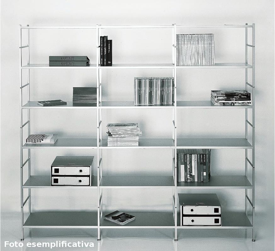 Librerie In Metallo Componibili.Libreria Componibile K3 Kriptonite Nikelshop Oggettistica