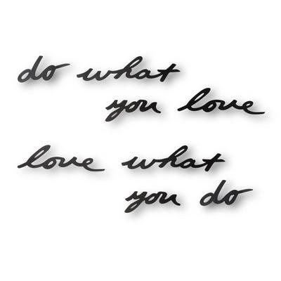 Fai quello che ami, ama quello che fai… è il mantra che vuoi tenere sempre pr…