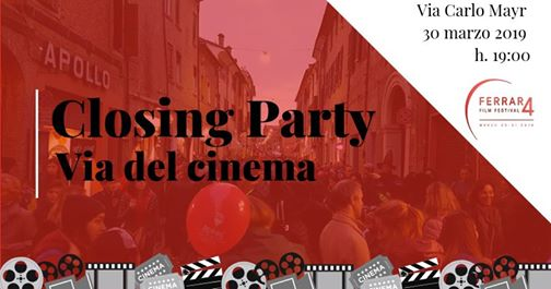 Closing PARTY – Via del cinema – Una via a ritmo di musica