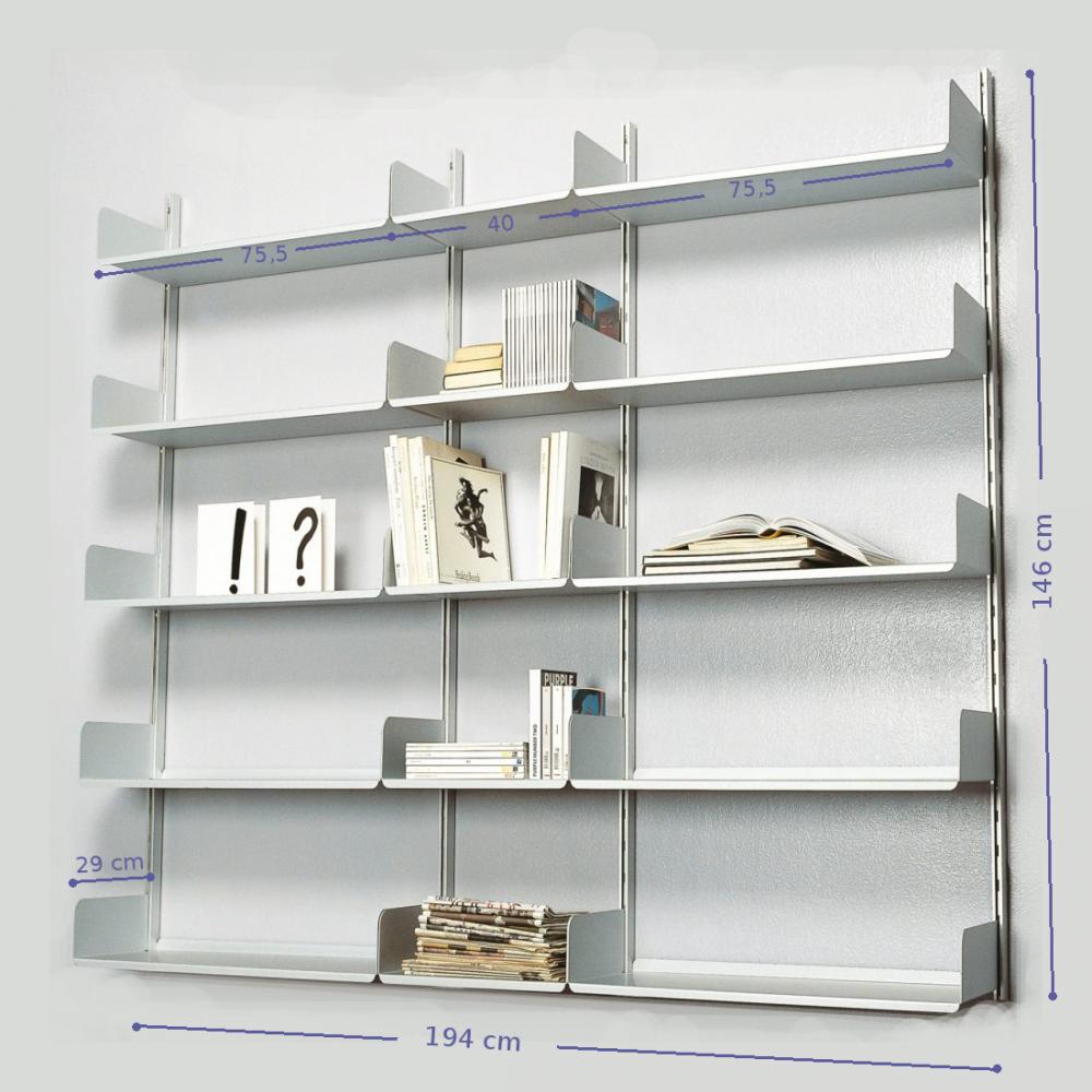 Libreria K1 con dimensioni